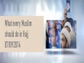 What Every Muslim Should Do in Hajj   Imam Sayyid Ali Khamenei   Farsi sub English