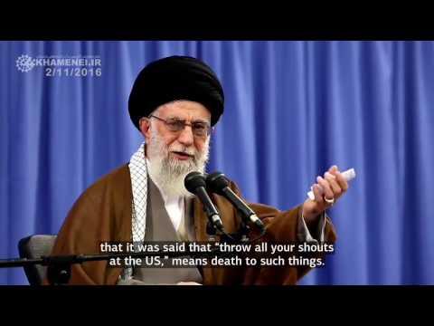 Human values are trodden in United States! - Farsi sub English