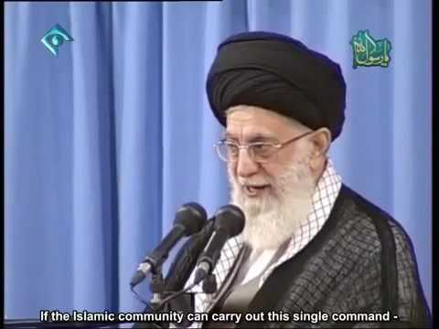 Ayatollah Khamenei: The power of reason, wisdom and acumen can solve humanity\\\'s problems - Farsi sub English