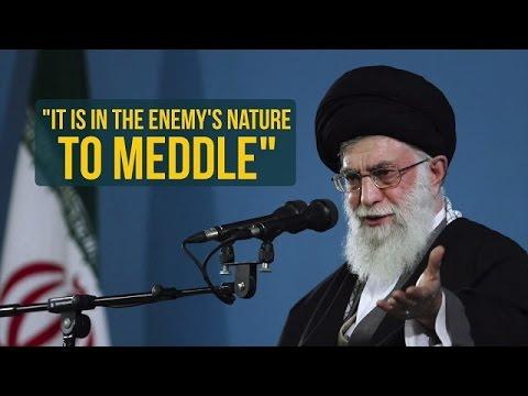 It\\\\\\\'s In The Enemy\\\\\\\'s Nature To Meddle | Imam Sayyid Ali Khamenei | Farsi sub English