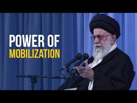 Power of Mobilization   Leader of the Islamic Revolution   Farsi sub English