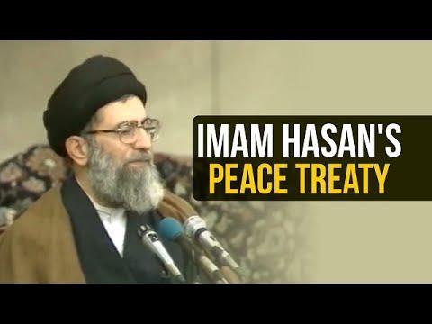 Imam Hasan\'s Peace Treaty   Ayatollah Sayyid Ali Khamenei   Farsi sub English