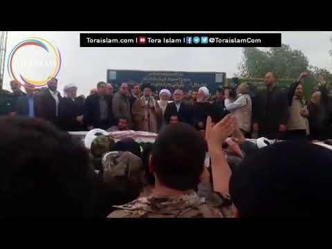 [Clip] Kunjungan Imam Ali Khamenei ke  Kermanshah, Kota Pusat Gempa - Farsi sub Malay