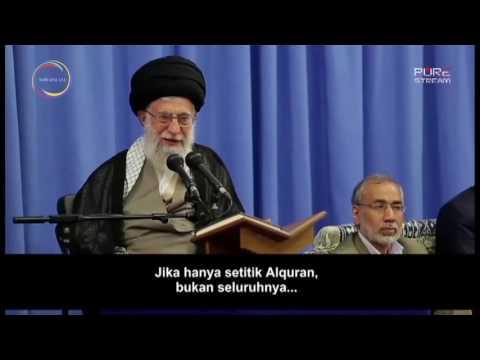 [Clip] Jika Qur\'an Suci Dikirimkan Hanya Setetes pada Orang-orang - Farsi sub Malay