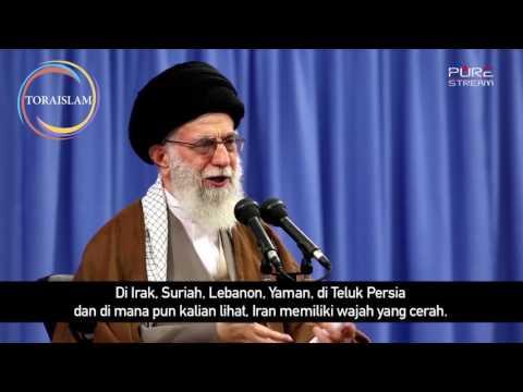[Clip] Republik Islam Iran Berdiri Tegak | Imam Khamenei - Farsi sub Malay