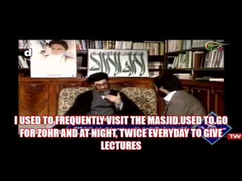 HOW MUCH LEADER IMAM KHAMENEI (HA) WORKED BEFORE ISLAMIC REVOLUTION-Farsi sub English