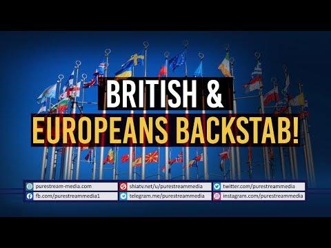 British & Europeans Backstab!   Leader of the Islamic Revolution   Farsi Sub English