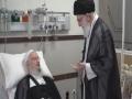 فیلم کامل عیادت رهبر انقلاب از حضرت آیت الله مکارم شیرازی - Farsi