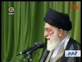 Leader Ayatollah Sayyed Ali Khamenei Justice must turn into common discussion -May17-2011 -Farsi