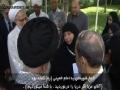 Daughter of Raghib Harb meets Rahber دختر شهید راغب حرب با رهبر Arabic Farsi