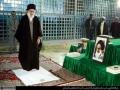 Leader\'s visit to Imam Khomeini\'s shrine Feb 2014