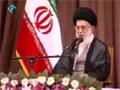 دیدار کارگران در گروہ صنعتی مپنا - Aytaullah Khamenei | 30 April 2014 - Farsi