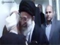 Imam Khamenei visiting Ayatollah Mujtaba Tehrani - All Languages