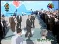Glimpses of Ayatullah Khamenei leading Eid prayers 2008 - Arabic
