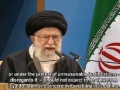 Ayt Khamenei calls Islamic Ummah to fulfill responsibility towards saving Palestine nation - Farsi sub English
