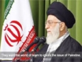 We strengthend our brothers fists in Gaza West Bank will be armed : Leader - Farsi Sub English