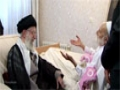Ayatullah Khamenei visited of Late Ayatullah Haj Sheikh Abdolghasem - All Languages