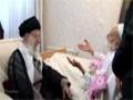 Ayatullah Khamenei visited of Late Ayatullah Haj Sheikh Abdolghasem - All Languages