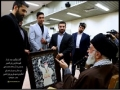 Professional athletes met with Leader Ayatollah Khamenei - Farsi