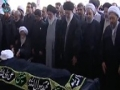 Leader Ayatollah Seyyed Ali Khamenei led prayers for late Ayatollah Abbas Vaez Tabasi - Mashad - All Languages