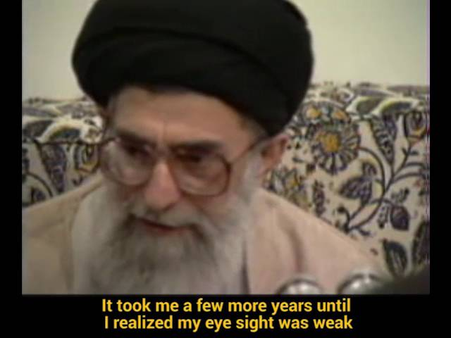 Ayatollah Khamenei\\\'s Fondest Memories of His Early School Years- Farsi sub English
