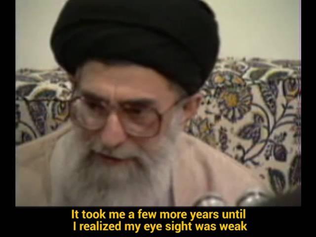 Ayatollah Khamenei\\\'s Fondest Memories of His Early School Years- Farsi sub English