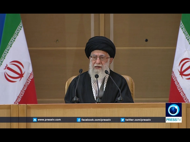 [02/21/2017] Iran Leader Ayat. Seyyed Ali Khamenei addresses 6th Intl. Intifada Conference in Tehran - English