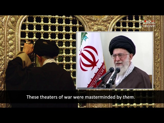 They Hate Our Foundation | Imam Sayyid Ali Khamenei | Farsi sub English