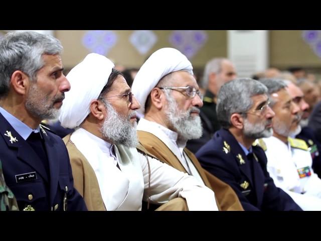 [Leader Speech] -19 april 2017 - دیدار فرماندهان و کارکنان ارتش - Farsi