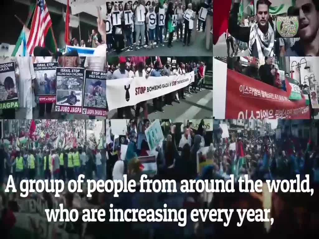 🎦 All Nations United to Free Palestine | Imam Khamenei - English