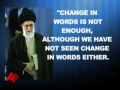 Supreme Leader Ayatullah Ali Khamenei dismisses Obama Overtures - 21Mar09 - English
