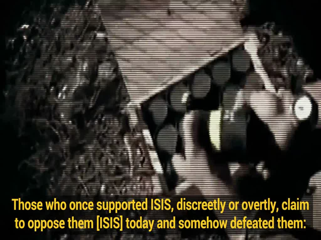 [Clip] USA: Supporters of Saddam then, backers of ISIS now - Farsi sub English