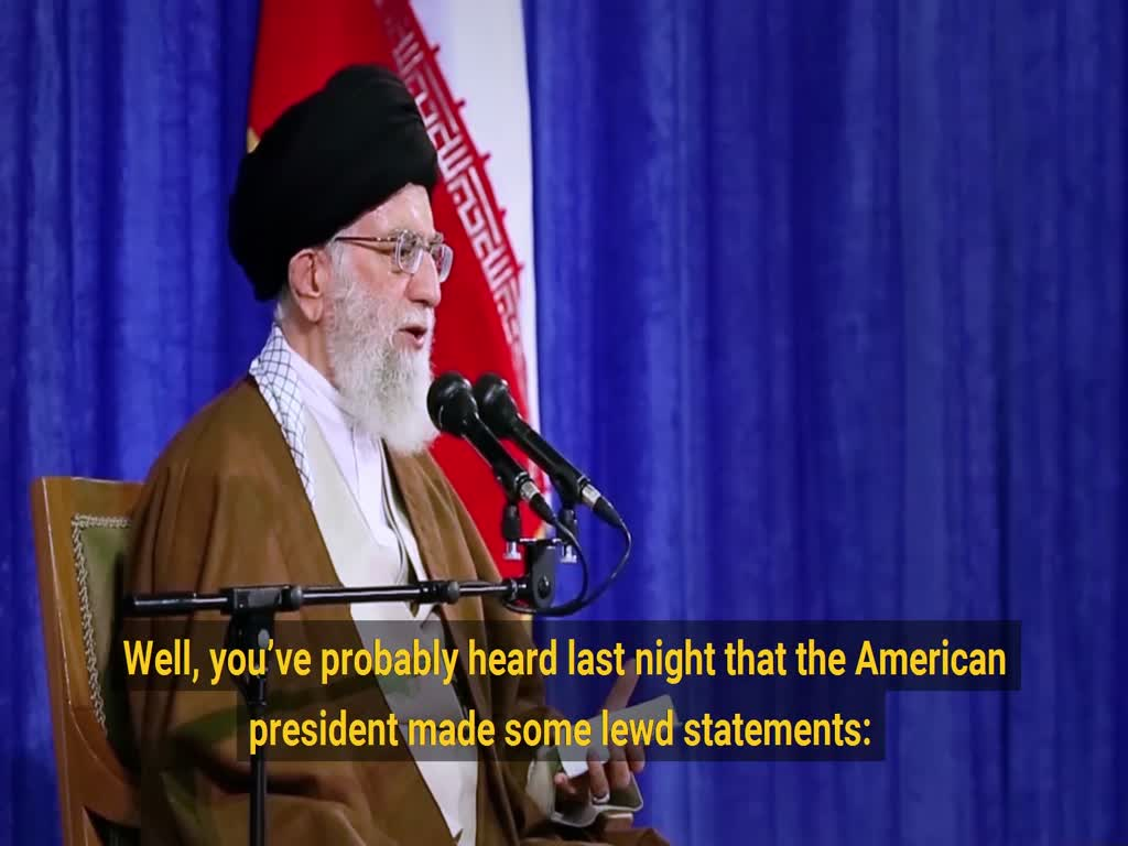 [Clip] Imam Khamenei\'s message to Trump after his withdrawal from JCPOA - English