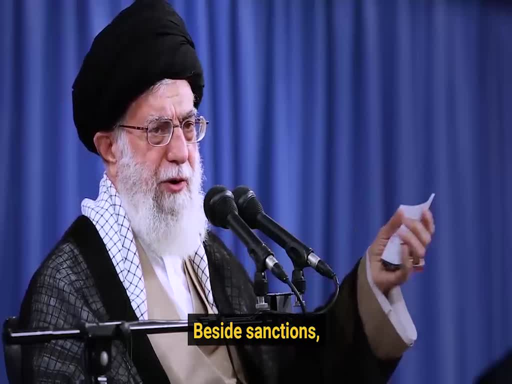 [Clip] We won't negotiate, nor will U.S. dare launch a war against us - Farsi sub English