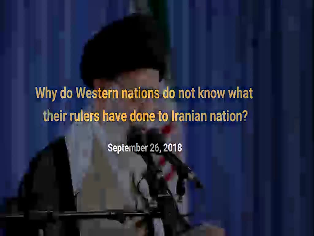 [Clip] People of France and Germany should learn about what their government did to the people of Iran - Farsi sub Engli