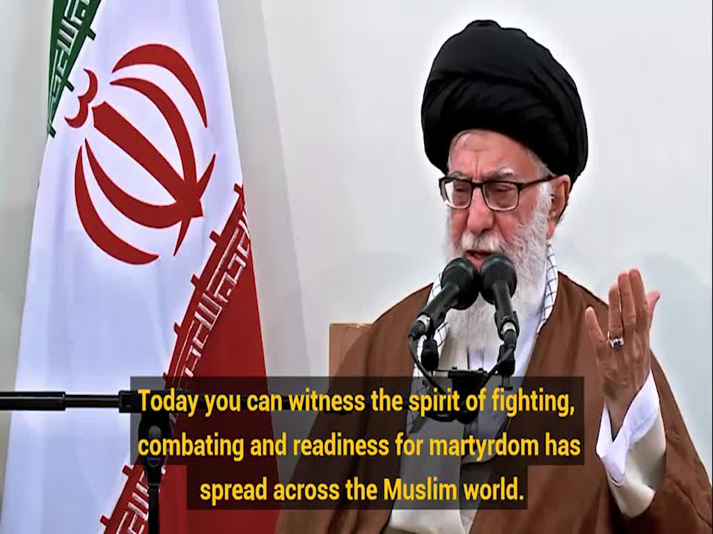 [Clip] Imam Khamenei to Arbaeen pilgrims: I wish I was with you! - Farsi sub English