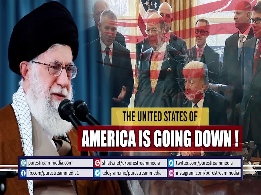 MUST WATCH | The United States of America is Going Down! | Farsi Sub English