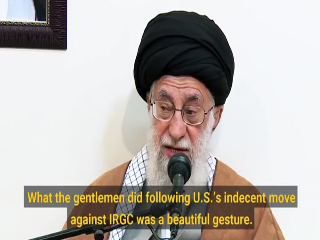 [Clip] U.S. talks nonsense for the Iranian people while it's sinking in debts - English