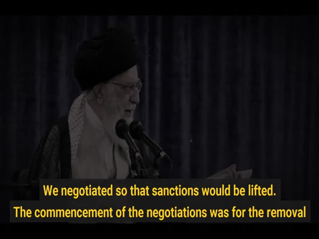 [Clip] JCPOA was aimed at eliminating sanctions, I don't trust the 3 EU states  - English