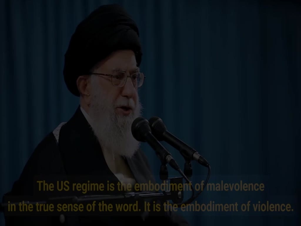 [Clip] 'Down with USA' means down with the US ruling class: Imam Khamenei - English