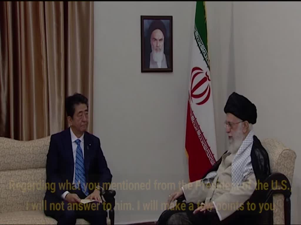 [Clip]  I do not consider Trump worthy of exchanging any message: Imam Khamenei - English