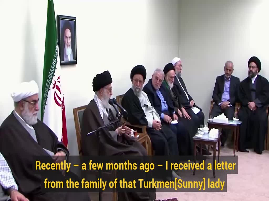 [Clip]  Ayatollah Khamenei\'s anecdote of a Sunni lady who performed Hajj on his behalf  - English