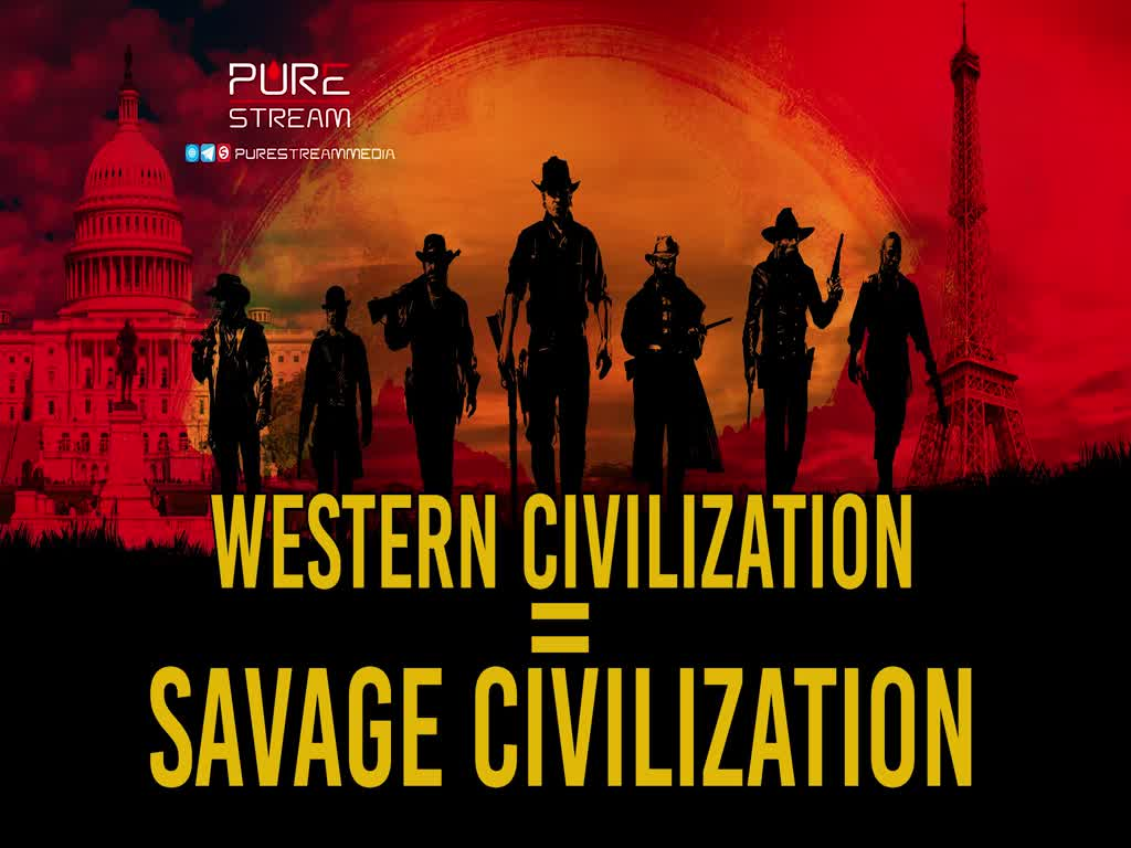 Western Civilization = Savage Civilization | Leader of the Muslim Ummah | Farsi Sub English