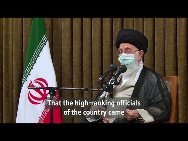 Iranian vs. US elections | Imam Khamenei - Farsi subs Eng