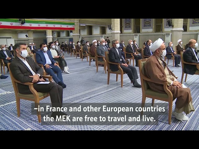 The appalling brazenness of Western governments in terms of human rights | Imam Khamenei - Farsi Subs Eng