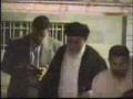 Ayatullah Imam Khamenei visiting Ayatullah Misbah Yazdi - Persian