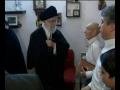 دیدار رهبری با خانواده چند شهید - Farsi