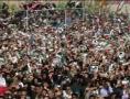 رهبری در جمع پر شور مردم شیروان - Farsi