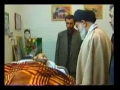 Ayatollah Khamenei visiting a basiji family - Persian Sub English