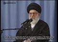 Leader of the Muslim Ummah, Ayatollah Khamenei on Muslim Unity - 29 January 2013 - Farsi sub English